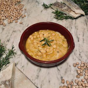La zuppa di ceci e baccalà di Risto' a Casa - Torino