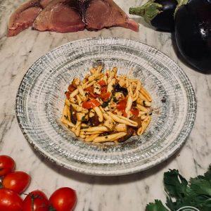 Gli Spaghetti alla Colapesce al pesto di Pantelleria di Risto' a casa - Torino