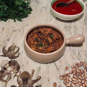 La zuppa di moscardini e fagioli di Risto' a Casa - Torino