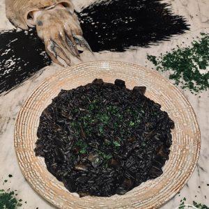 Il risotto al nero di Risto' a Casa - Torino