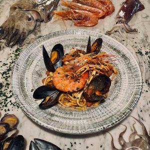 Gli Spaghetti alla Pignurin al pesto di Pantelleria di Risto' a casa - Torino