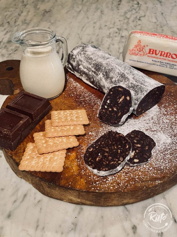 Il salame al cioccolato di Risto' a Casa - Torino