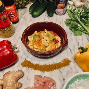 Il pollo alla thailandese di Risto' a Casa - Torino