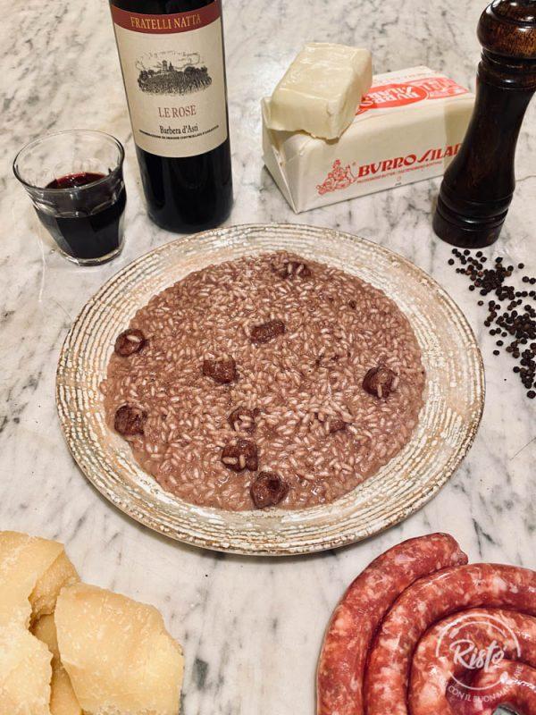 Il risotto Ubriaco di Risto' a Casa - Torino